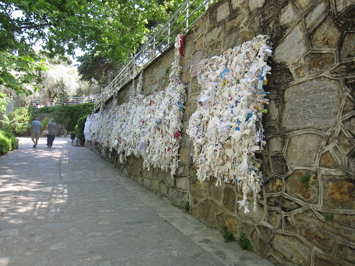 Wall of Wishes, House of Mother Mary, Turkey