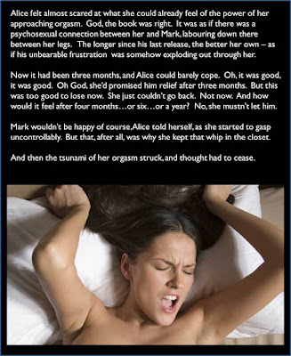 Orgasm addict