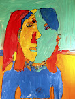 Tribute to Picasso by Zoe