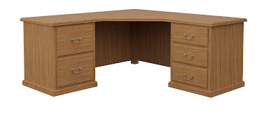 York L-Shaped Desk