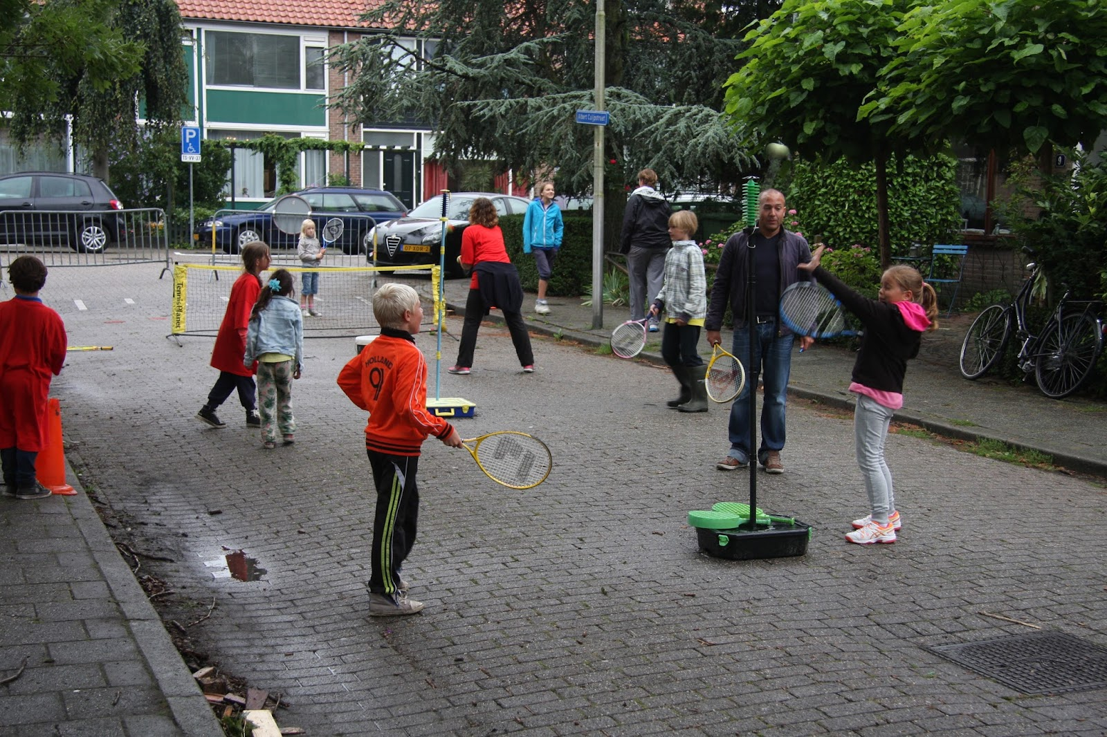 2015-08 Tennis_Levend voetbal