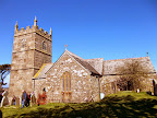 Zennor church.