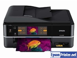 How to reset Epson Artisan 800 printer