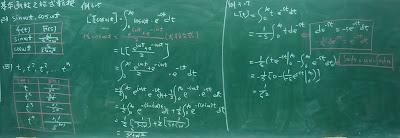 Laplace:基本函數之Laplace transform L[f(t)]