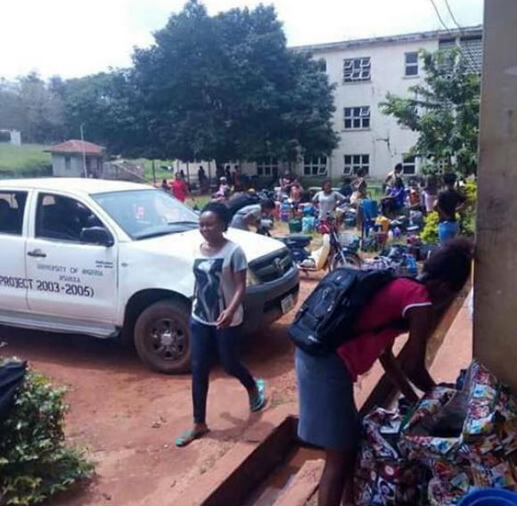 UNN Students Brutalized, Abused And Thrown Out Of The Hostel In Enugu State (Photos)