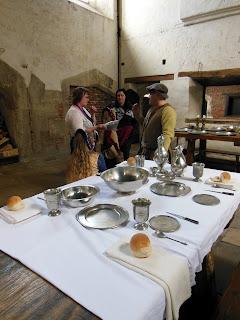 На кухне во дворце Хэмптон Корт