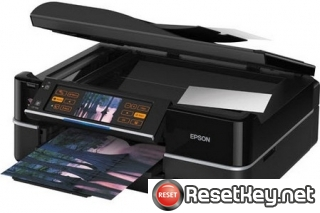 Reset Epson TX810FW printer Waste Ink Pads Counter