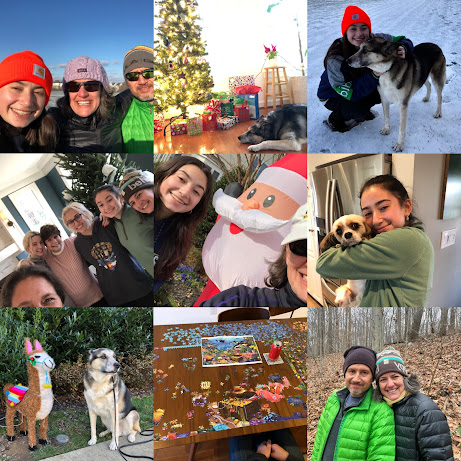 Holiday Collage Jen Lara 2020