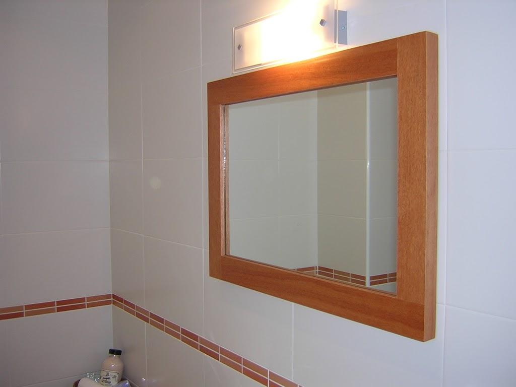 espejo cedro lavabo