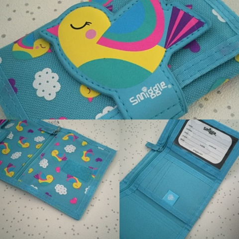 smiggle character wallet