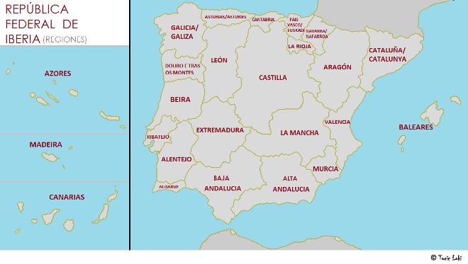 Organización territorial de Iberia