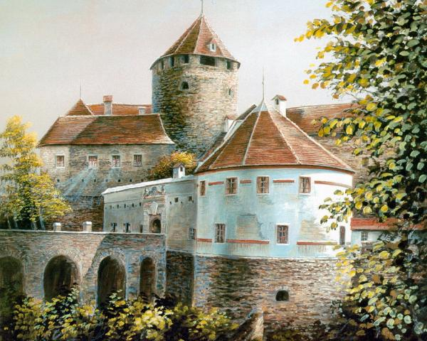Castle Of Autumn, Magical Landscapes 1