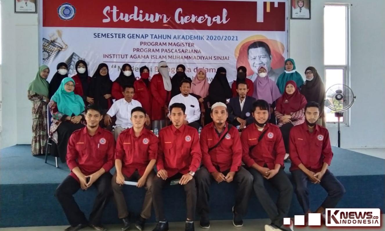 Studium General Program Pascasarjana IAIM Sinjai Hadirkan Guru Besar UINAM