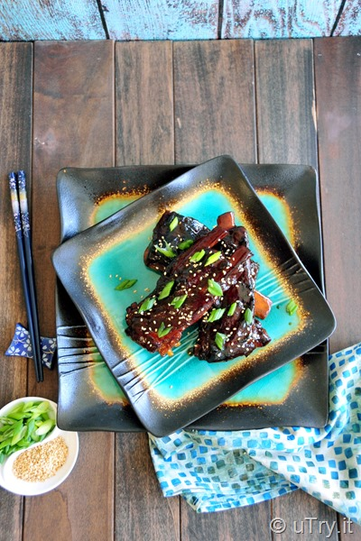 Check out how to make this quick and easy Slow Cooker Recipe – Asian Style Pork Ribs 簡易慢燉鍋香辣排骨  http://uTry.it