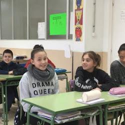 """Els alumnes de 6è de Primària CEIP Punta de n'Amer segons finalistes del  concurs """"Lights, Camera & Action"""" que  guanyaren IES Mossèn Alcover Col·laboració CEIP Punta de n'Amer"""