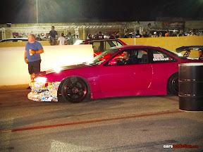 Pink Nissan S14