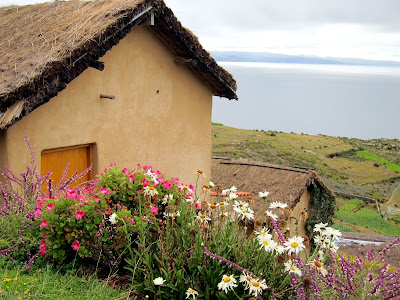 Ecolodge la Estancia on the Isla del Sol on Lake Titicaca in Bolivia
