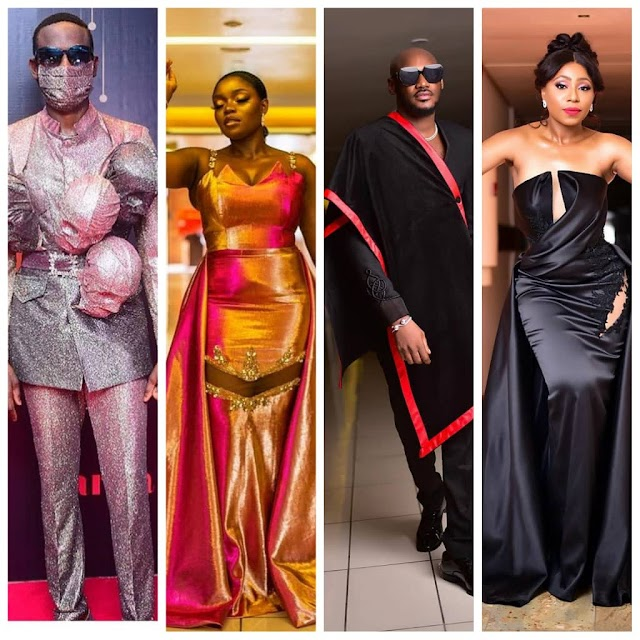 More photos of celebrities at the 2020 AMVCA.