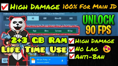 Pubg Mobile 90fps Config   How to Fix Lag In Low End Device