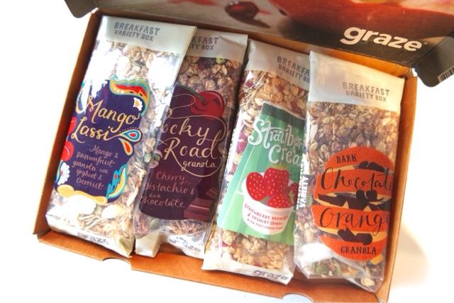 Graze Breakfast Box
