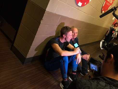 chrismartin-ellen-Coldplay iHeartRadio Music Festival 2015