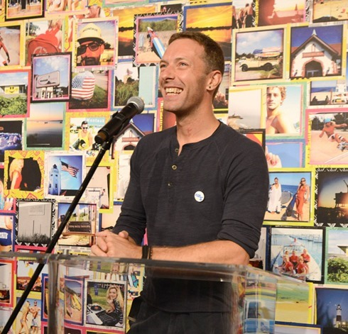 Chris Martin 2015 Global Citizen Festival launch party1