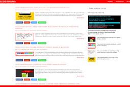 Template Blogger Sederhana Seo Responsive