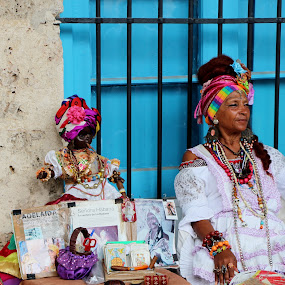 Cuban Corner by Cindy Walker - Novices Only Portraits & People