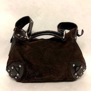 Furla Suede Bag