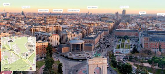 El Faro de Moncloa abre el viernes 24 de abril como mirador - pincha para ampliar