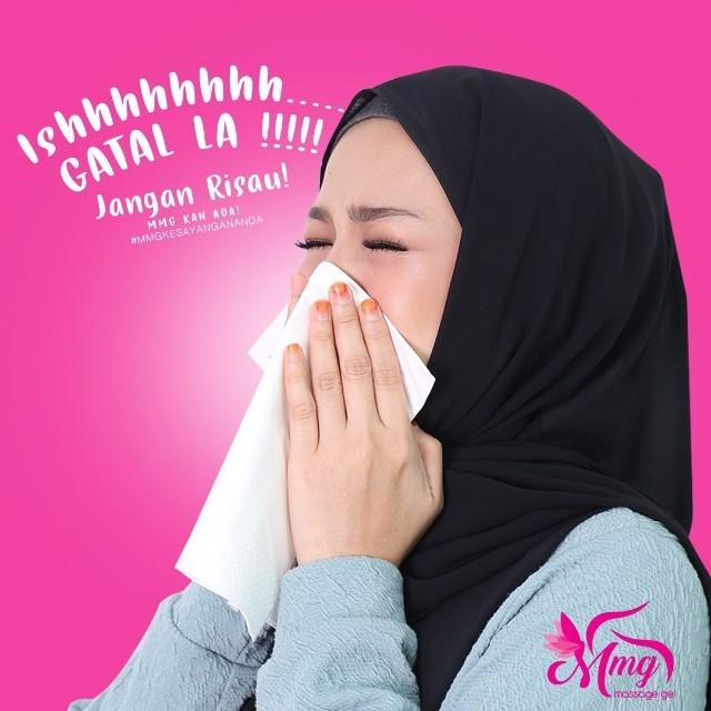 Minyak urut moden MMG bantu elak simptom dari terkena selsema dan batuk.