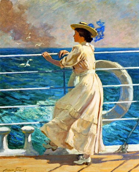 Abbott Fuller Graves - On the Deck.