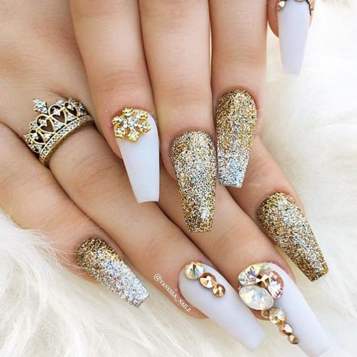 Cute Acrylic Nails For Long Nail For 2018 4