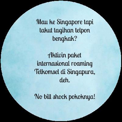 paket hp Telkomsel di Singapura