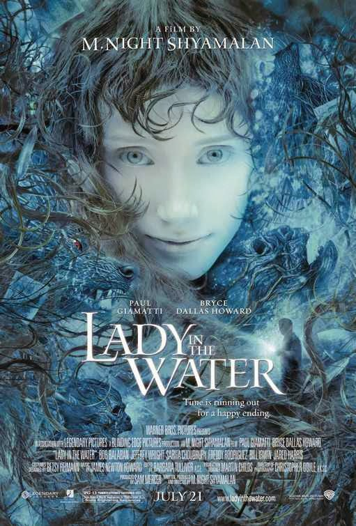 Poster Of Lady in the Water (2006) Full Movie Hindi Dubbed Free Download Watch Online At Alldownloads4u.Com