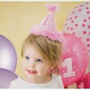 FIesta tranquila para llevar el primer cumpleaños de 1 niña
