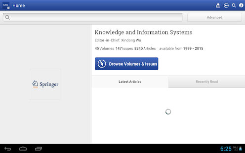 Knowledge and Inf Systems- screenshot thumbnail