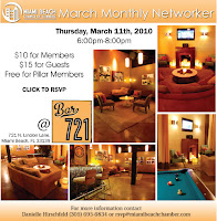 March Monthly Networker at Bar 721