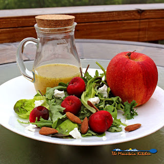 Meatless Monday ~ Cherry-Apple Salad With Orange Champagne Vinaigrette