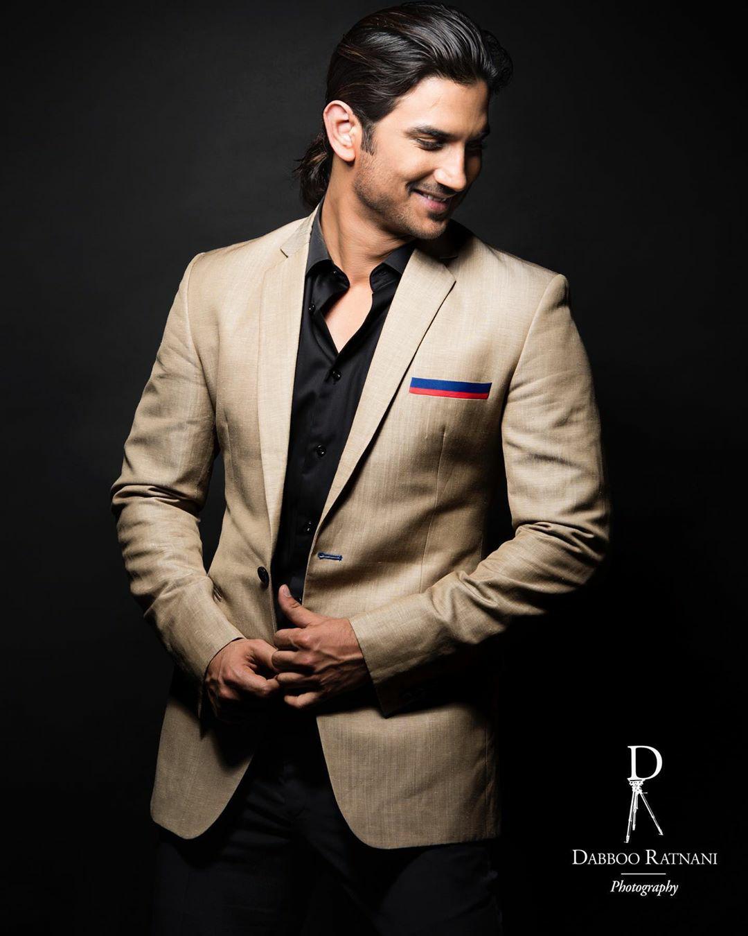 Sushant Singh Rajput's stylish photoshoot for M.S.Dhoni ...