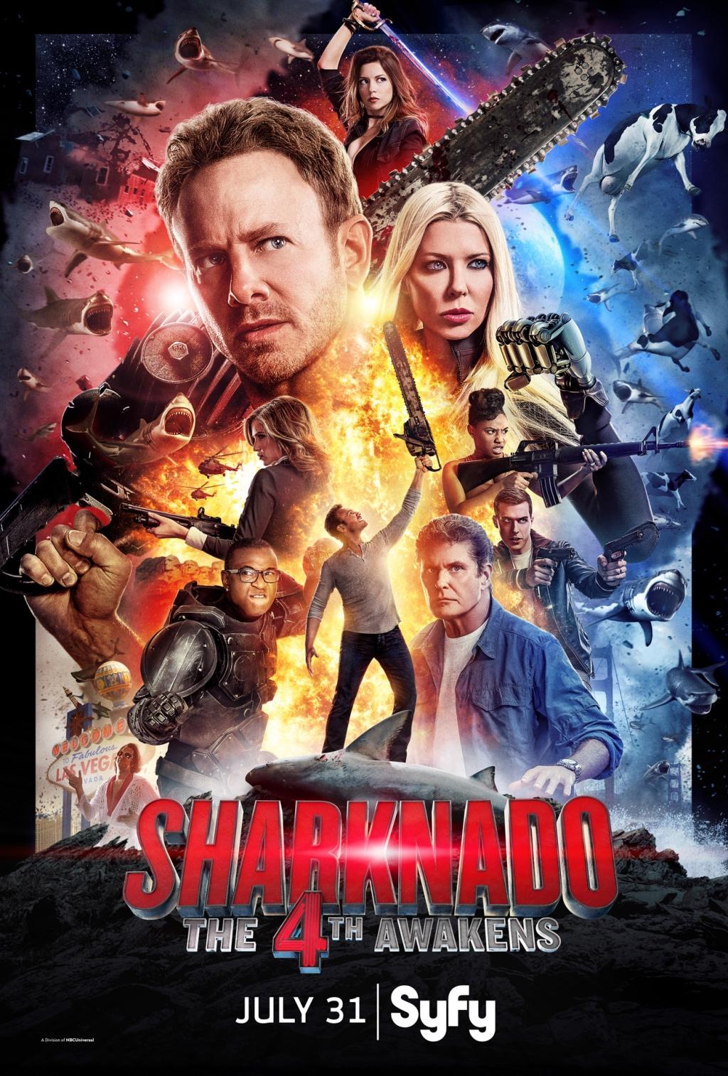 Bão Cá Mập - Sharknado 4: The 4th Awakens (2016)