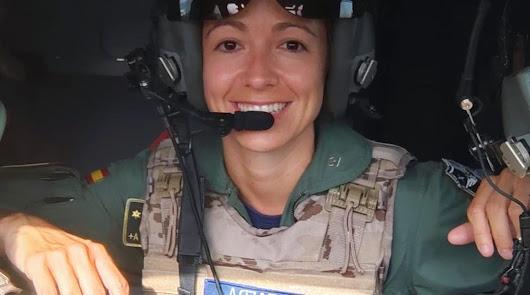 La almeriense Pérez de Zafra, única mujer en la evacuación de Kabul
