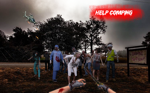 Zombie War Shooting - Commando Zombie Shooter Game 3 screenshots 6