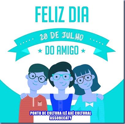 fELIZ DIA DO AMIGO 2017
