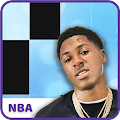NBA YoungBoy - Outside Today Piano Tile APK