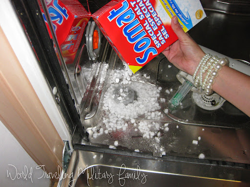 German Dishwasher - Just Add Salt! | World Traveling Military Family