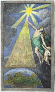 From Karl Von Eckhartshausen Zahlenlehre Der Natur Leipzig 1794, Alchemical And Hermetic Emblems 2