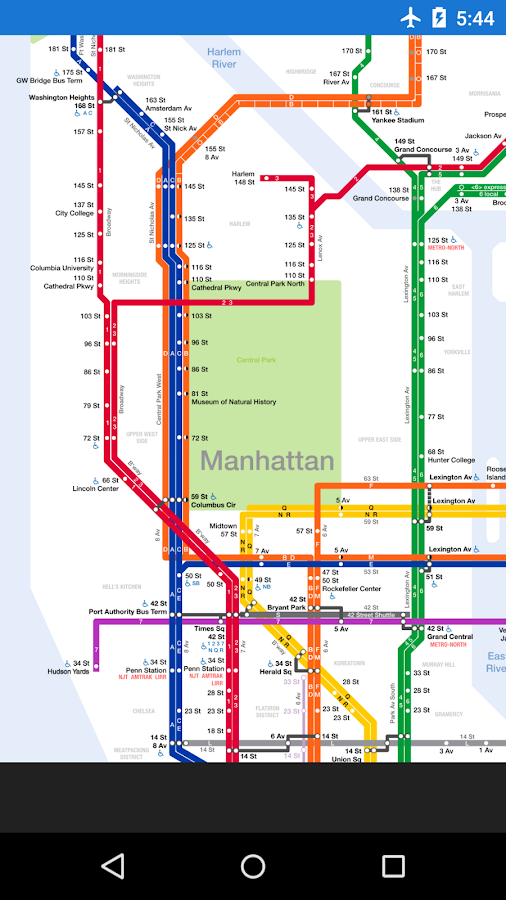 Jackson Heights Subway Map