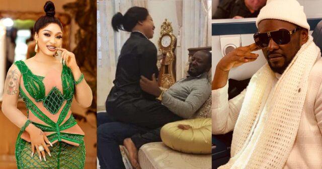 """Blessed are you among women"" – Tonto Dikeh's lover, Prince Kpokpogri celebrates her, she replies [Photo]"