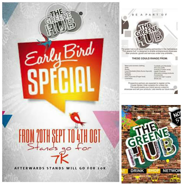 The Greene Hub Presents: Early Bird Special | Sept 20th to Oct 4th